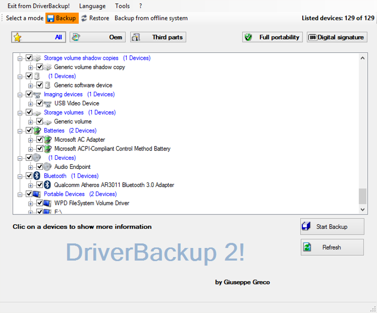Driver Backup 2!